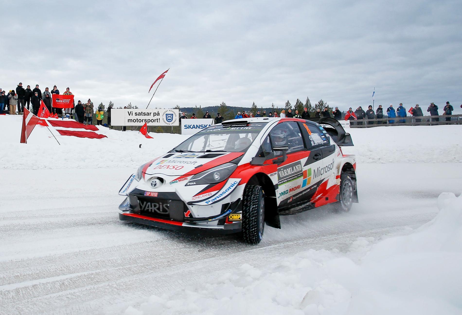 Ott Tänak leder VM efter segern i Rally Sweden 2019