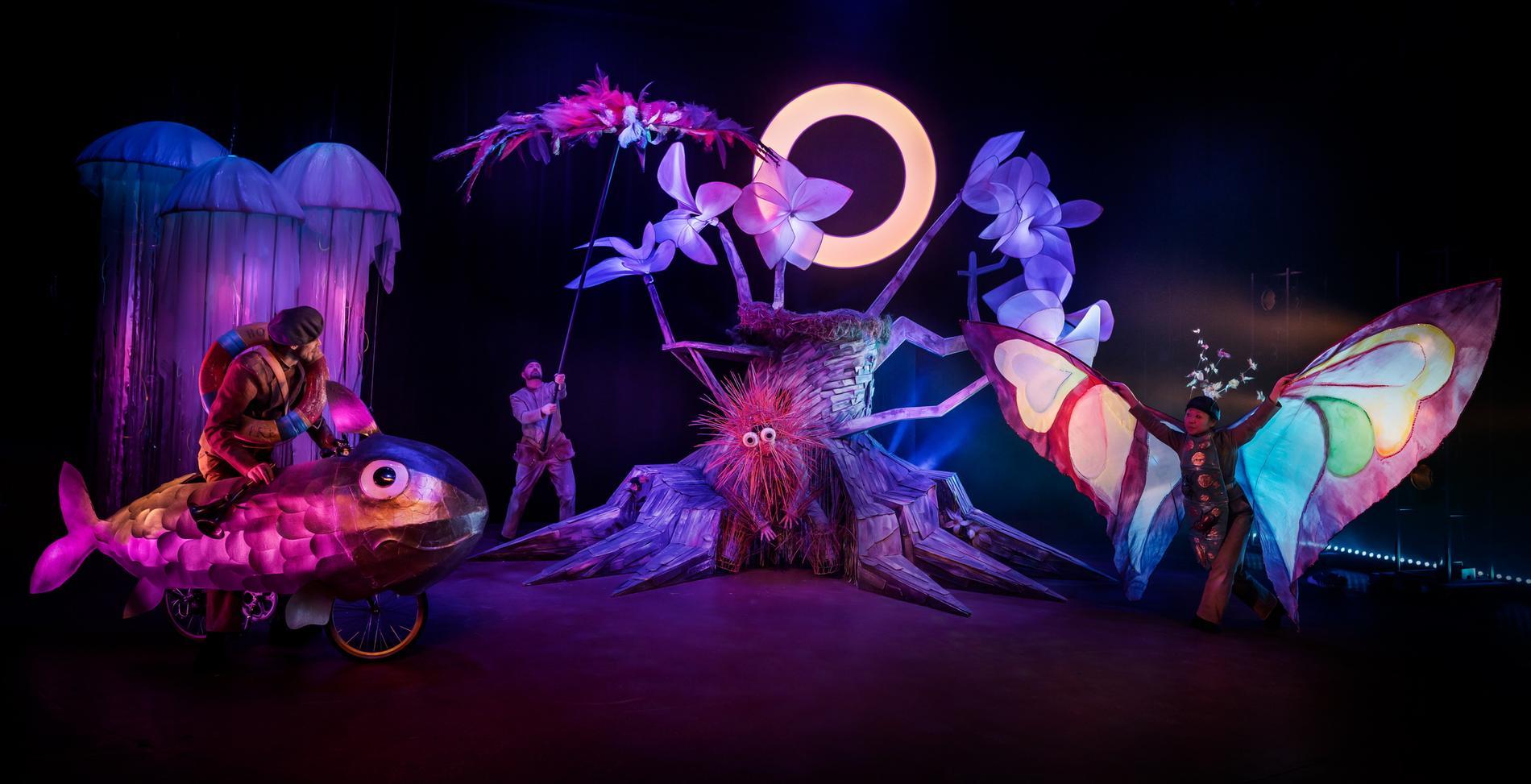 """Marionetteaterns """"Ett frö i rymden"""" är tills vidare inställd på grund av coronakrisen."""