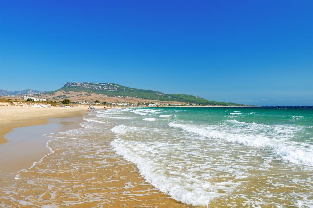 Playa de Bolonia i Spanien har bäst betyg.
