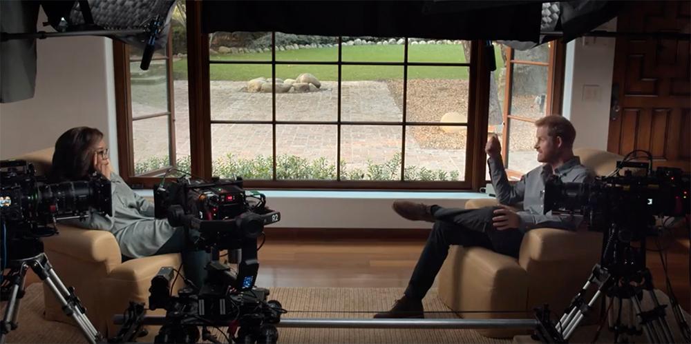 """Prins Harry avslöjar privata trauman i den nya tv-serien """"The me you can't see"""" som han gör tillsammans med Oprah Winfrey."""
