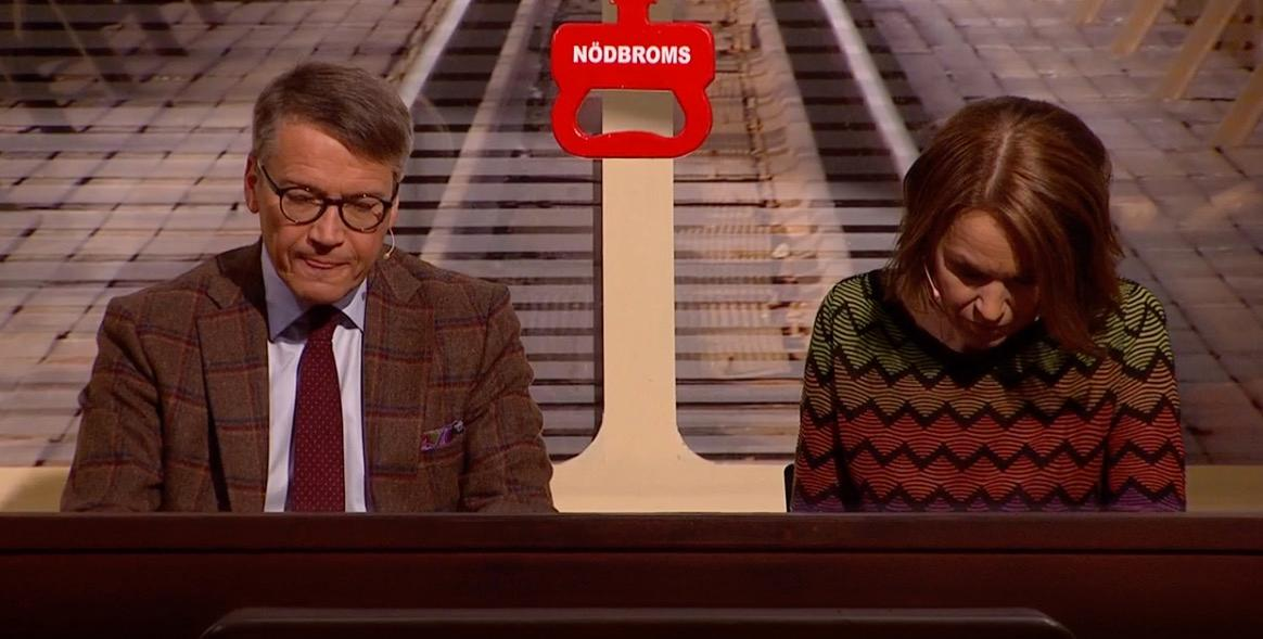 Göran Hägglund och Anne-Lie Rydé.