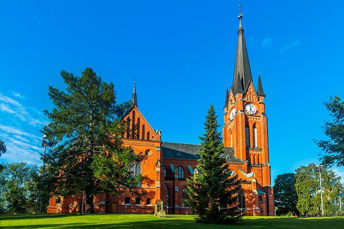 Gustav Adolfs kyrka i Sundsvall.