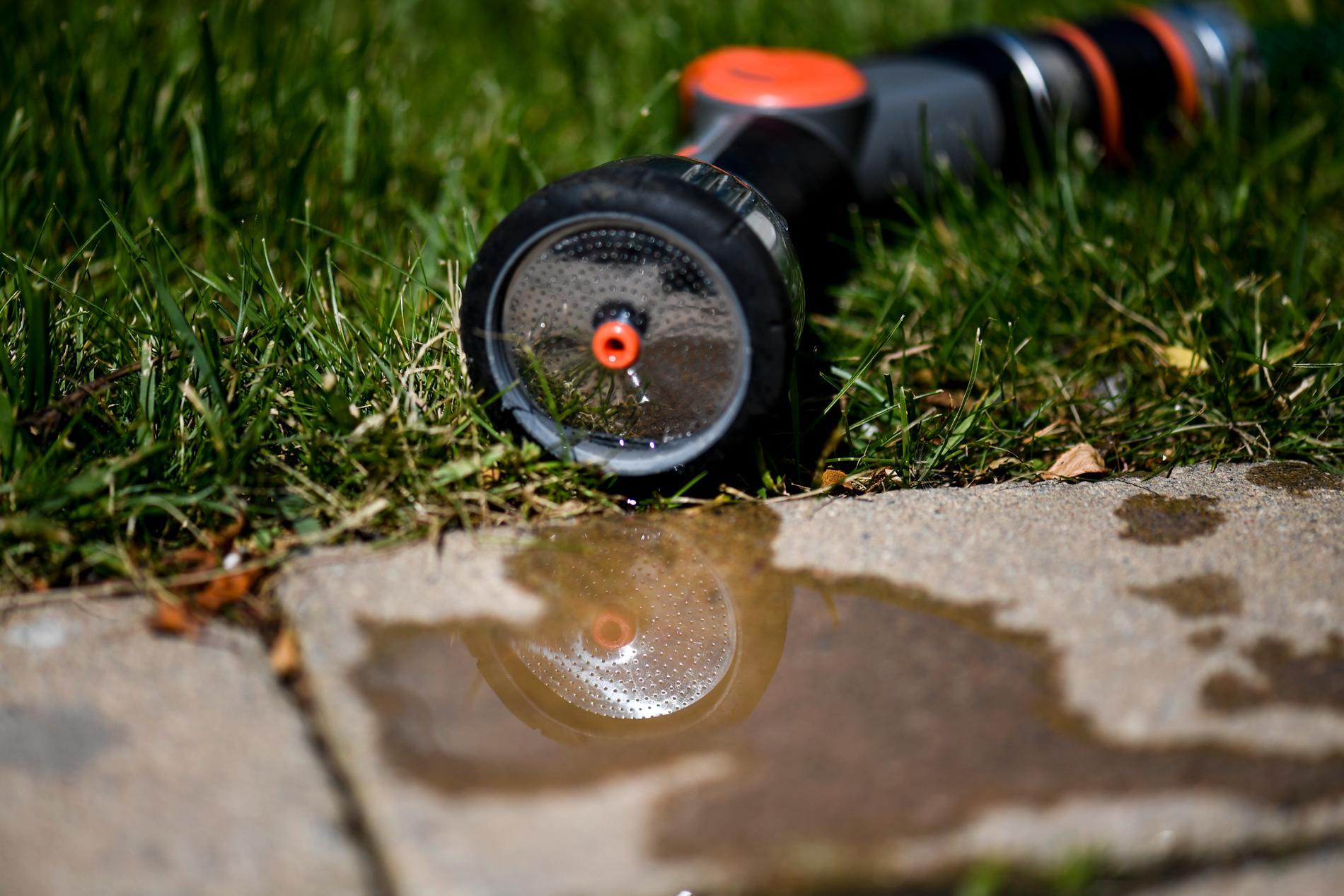 """""""Bevattningsförbud utfärdas ofta på orter där befolkningen ökar mycket under sommaren och när vädret är bra"""", säger Fredrik Vinthagen, kommunikationsstrateg på Svenskt vatten."""
