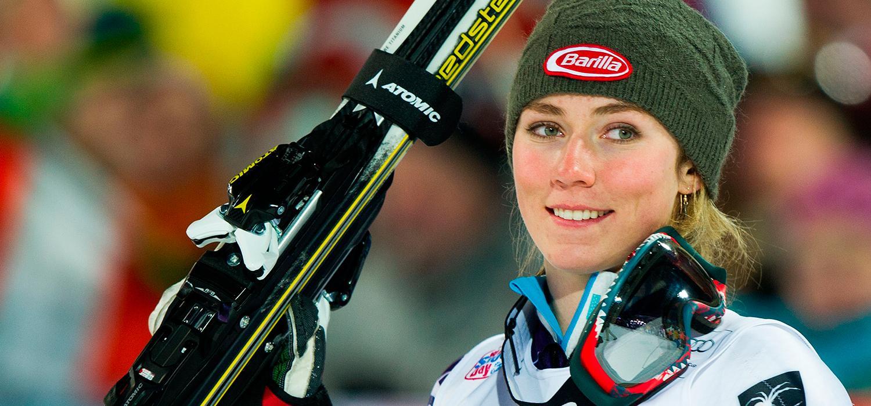 Mikaela Shiffrin slog igenom med dunder och brak 2013.