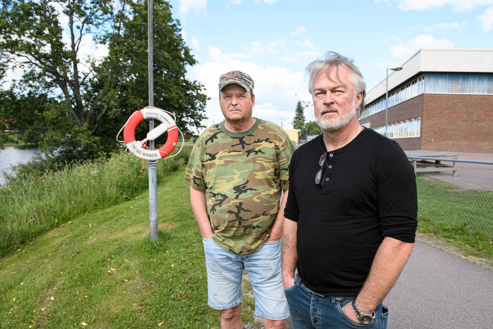 Lars Vikman och Joakim Lander har båda arbetat på det kritiserade HVB-hemmet.