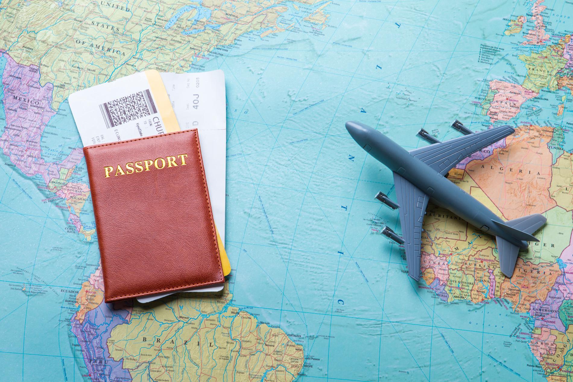 Olika pass innebär olika rörelsefrihet i världen.