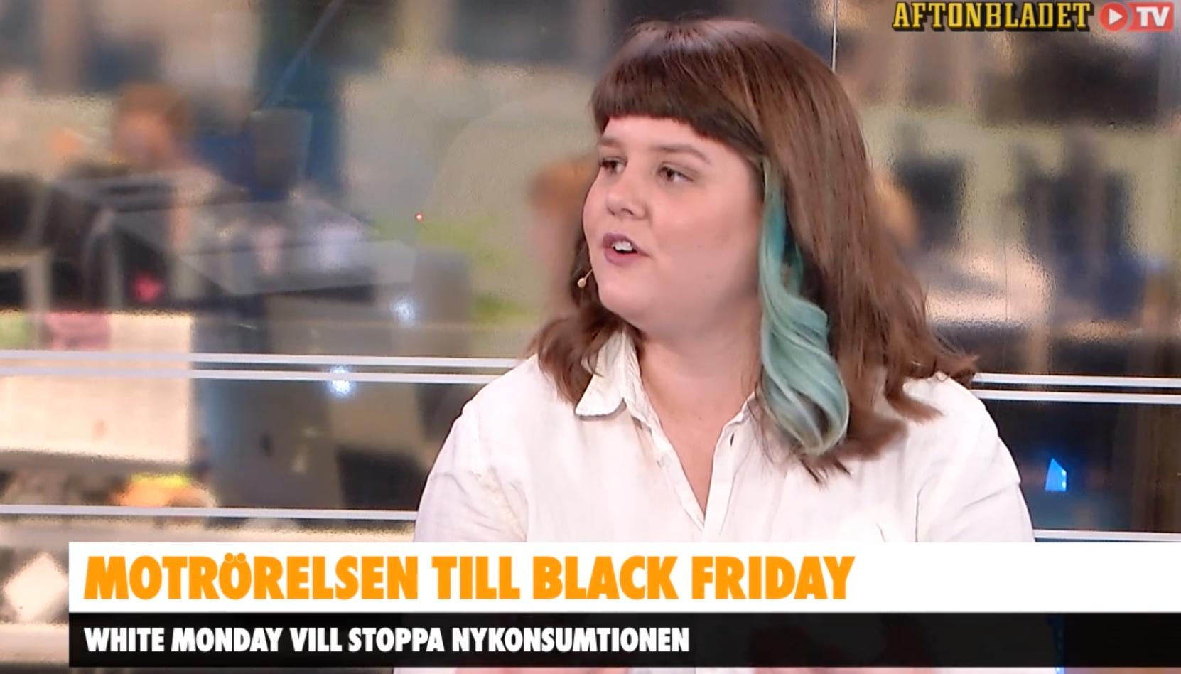Elin Häggberg är teknikexpert i AB Morgon och står bakom White Monday.
