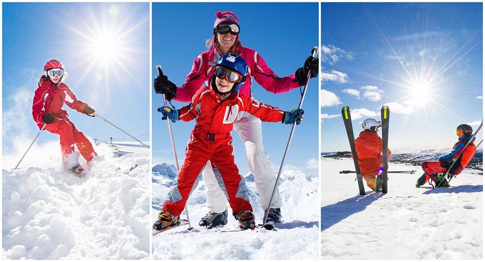 Snödjupet skapar fantastiska möjligheter för vårskidåkning i år.