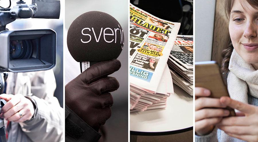 Det nya systemet ska pröva alla mediernas publiceringar oberoende av publiceringsplattform, det vill säga även radio- och tv-sändningar och de webbpubliceringar som i dag inte kan prövas, skriver debattörerna.
