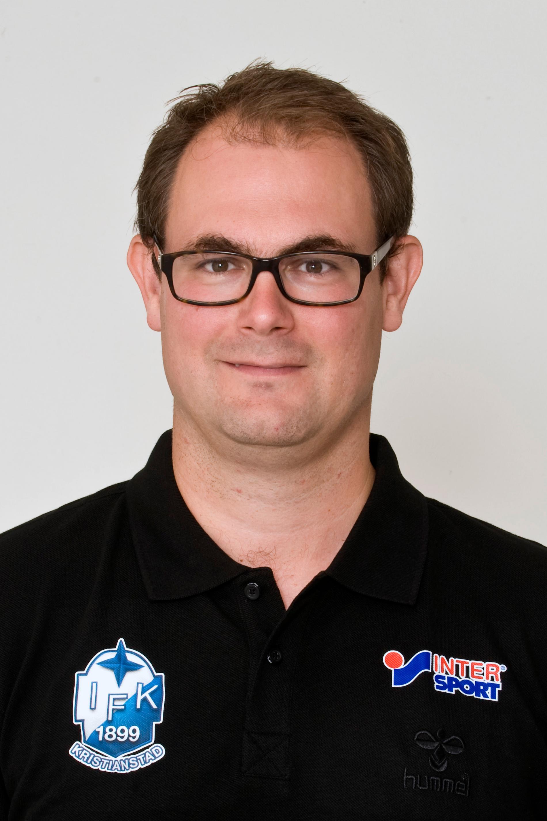 Idrottsläkaren Markus Waldén.