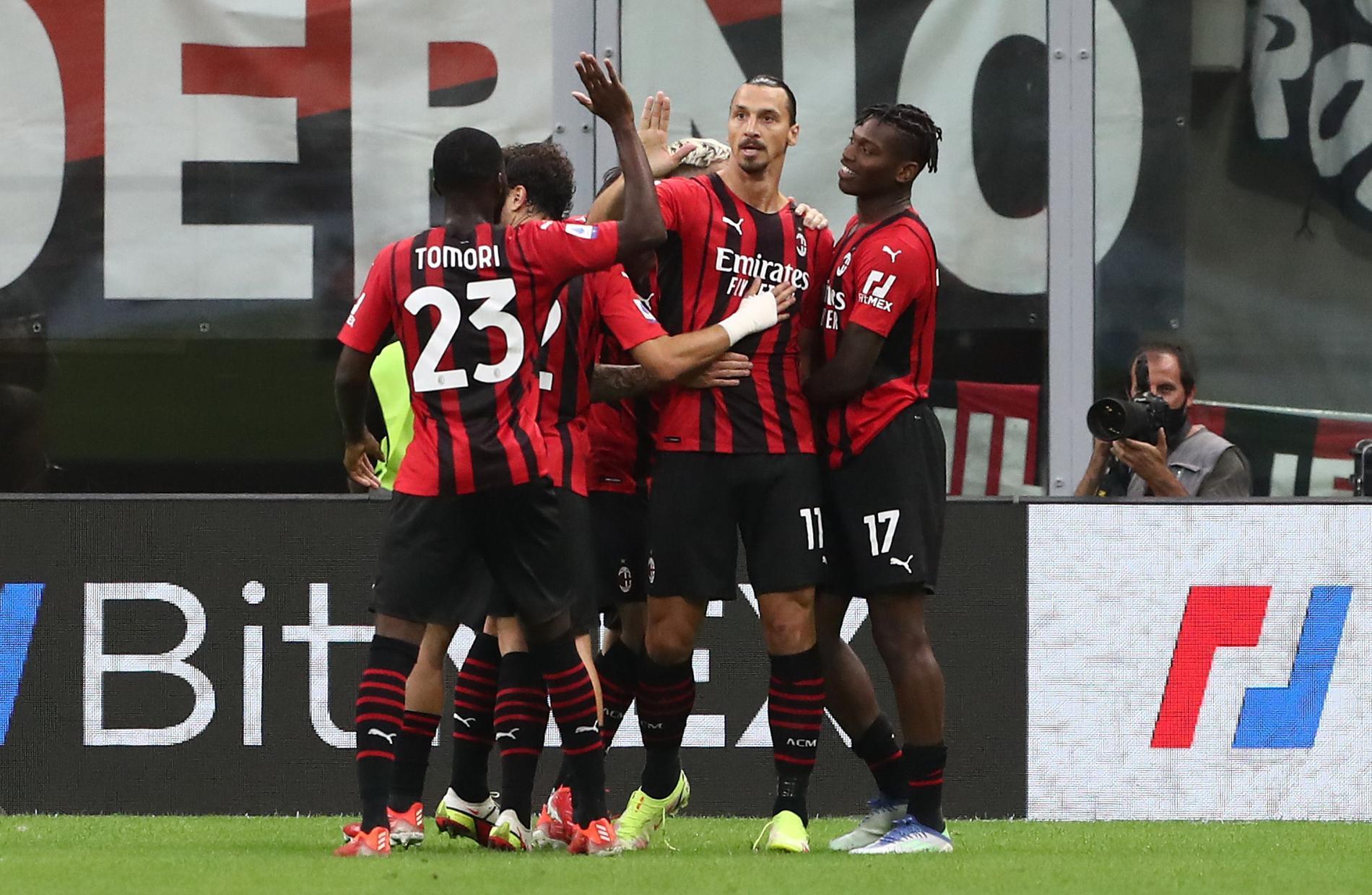Zlatan Ibrahimovic behövde inte många minuter att göra mål i sitt inhopp mot Lazio senast.