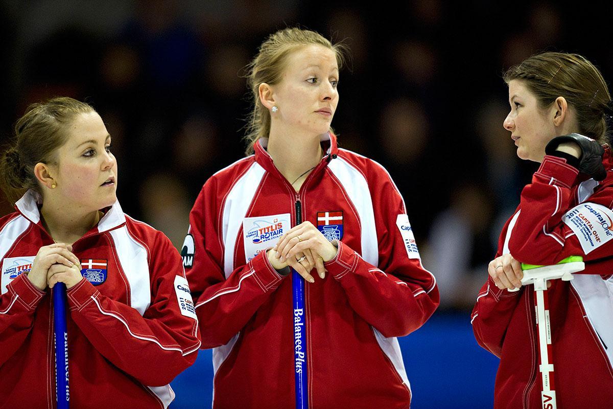 Simonsen har bland annat ett brons i EM för Danmark.