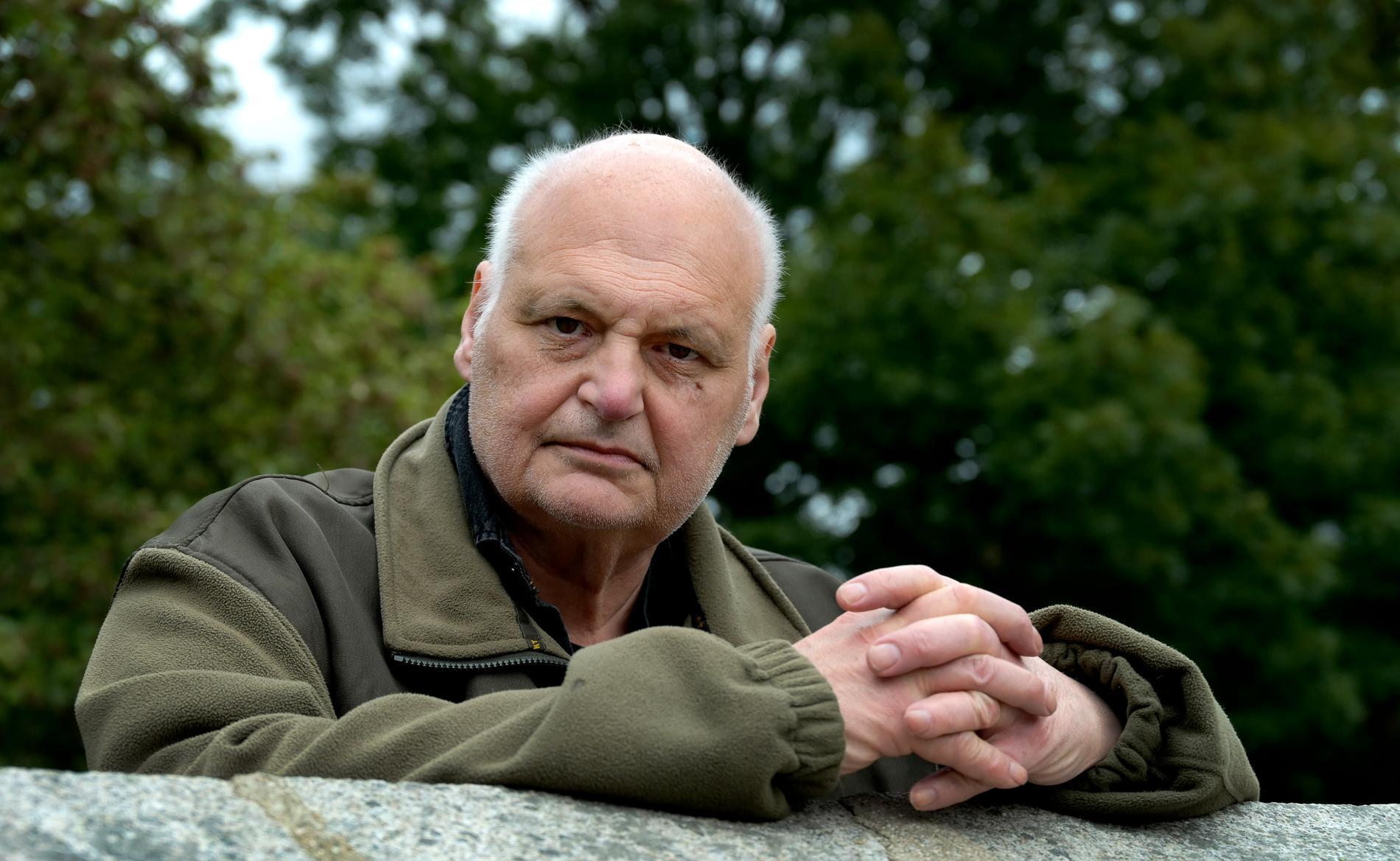 """Göran Greider är aktuell med boken """"Barndomsbrunnen"""" om sin barndom och svåra kamp mot blodcancern."""