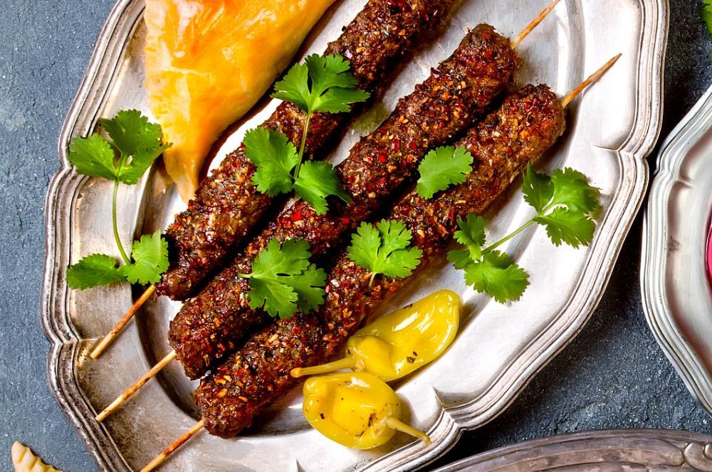 Kebabspett – enkelt och väldigt gott.