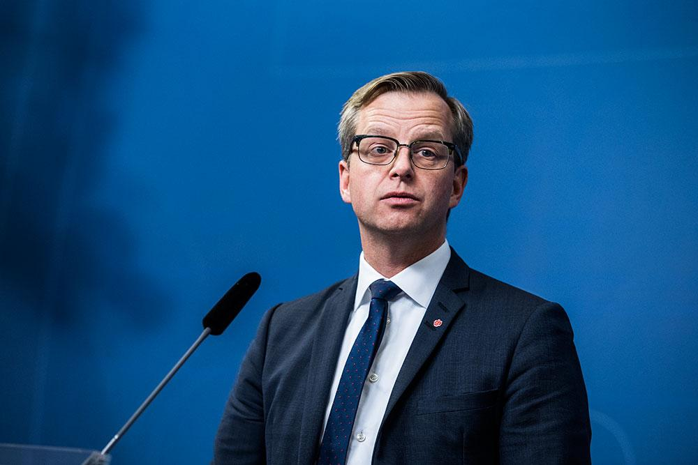 Näringsminister Mikael Damberg. (S)