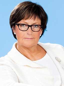 Lena Holm, Majblommans riksförbund.