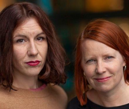 Lisa Röstlund och Anna Gustafsson har nominerats till både Stora Journalistpriset och Guldspaden för sin granskning av Nya Karolinska.