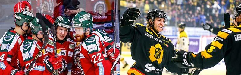 Frölunda och Skellefteå möts i den fjärde matchen i SHL-finalen under torsdagskvällen i Göteborg