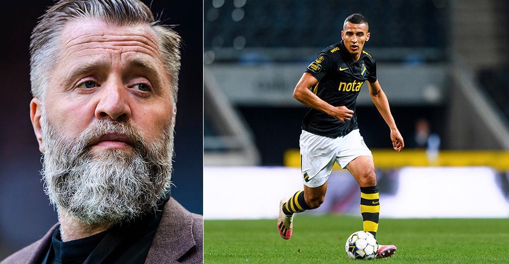Björn Wesström och Nabil Bahoui.