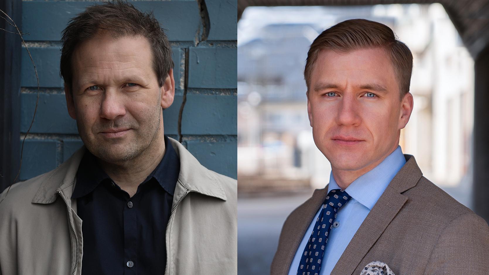 """Lasse Wierup utkommer med """"Gangsterparadiset"""" och Fredrik Kärrholm med """"Gangstervåld""""."""