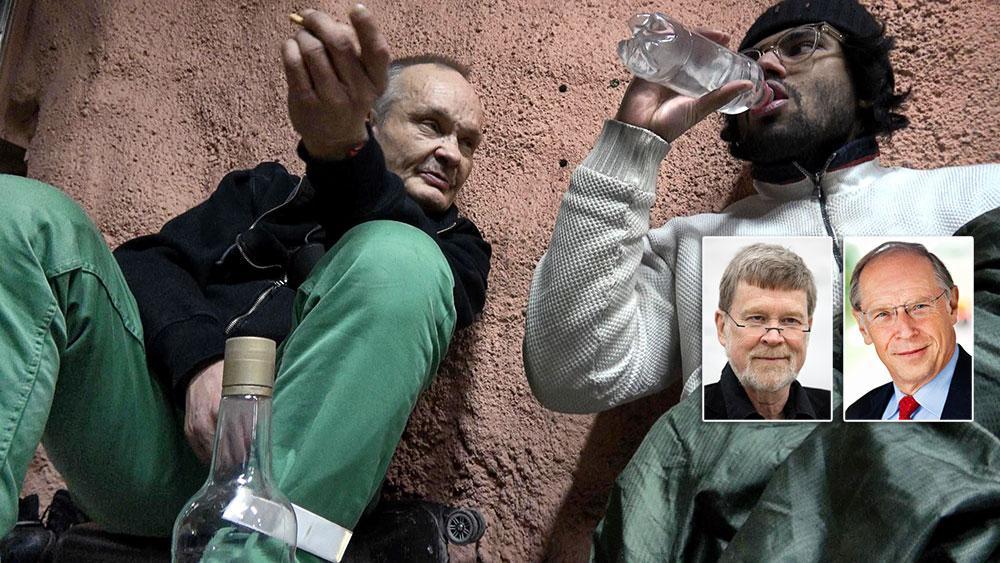 """I SVT:s """"36 dagar på gatan"""" fick tittarna följa fotografen Christoffer Hjalmarsson och hur han skildrade livet som uteliggare. Dagens debattörer tycker att  public service-företagen har en särställning när det gäller skildringar av komplexa sociala problem."""