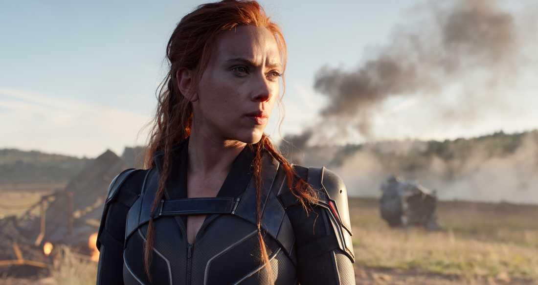 "Scarlett Johansson i ""Black widow""."