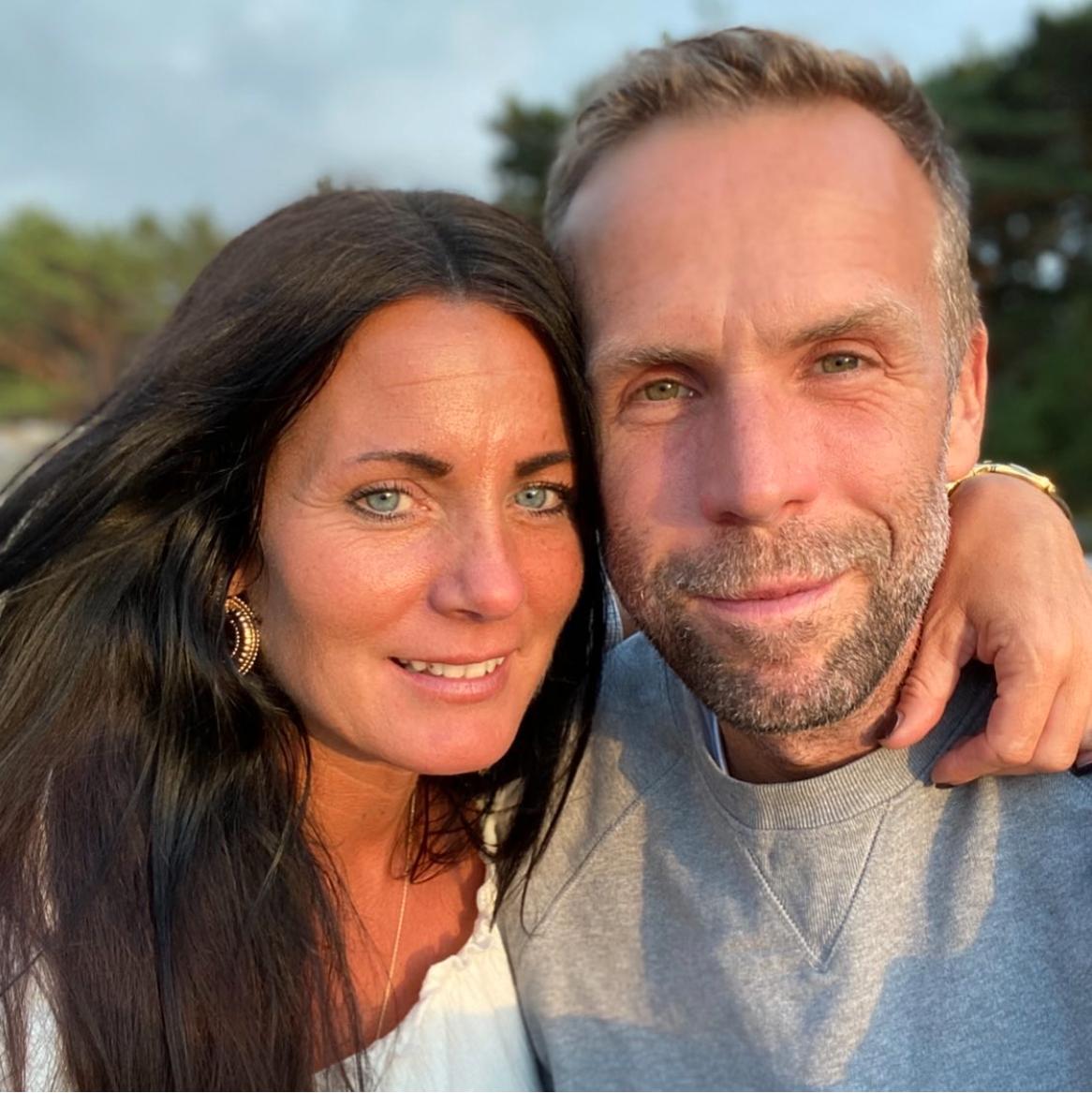 Charlotta Ström och Johan Östling.