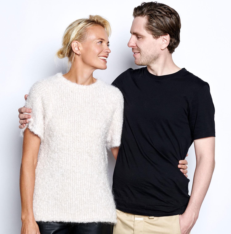 Josephine Bornebusch och Sverrir Gudnason.
