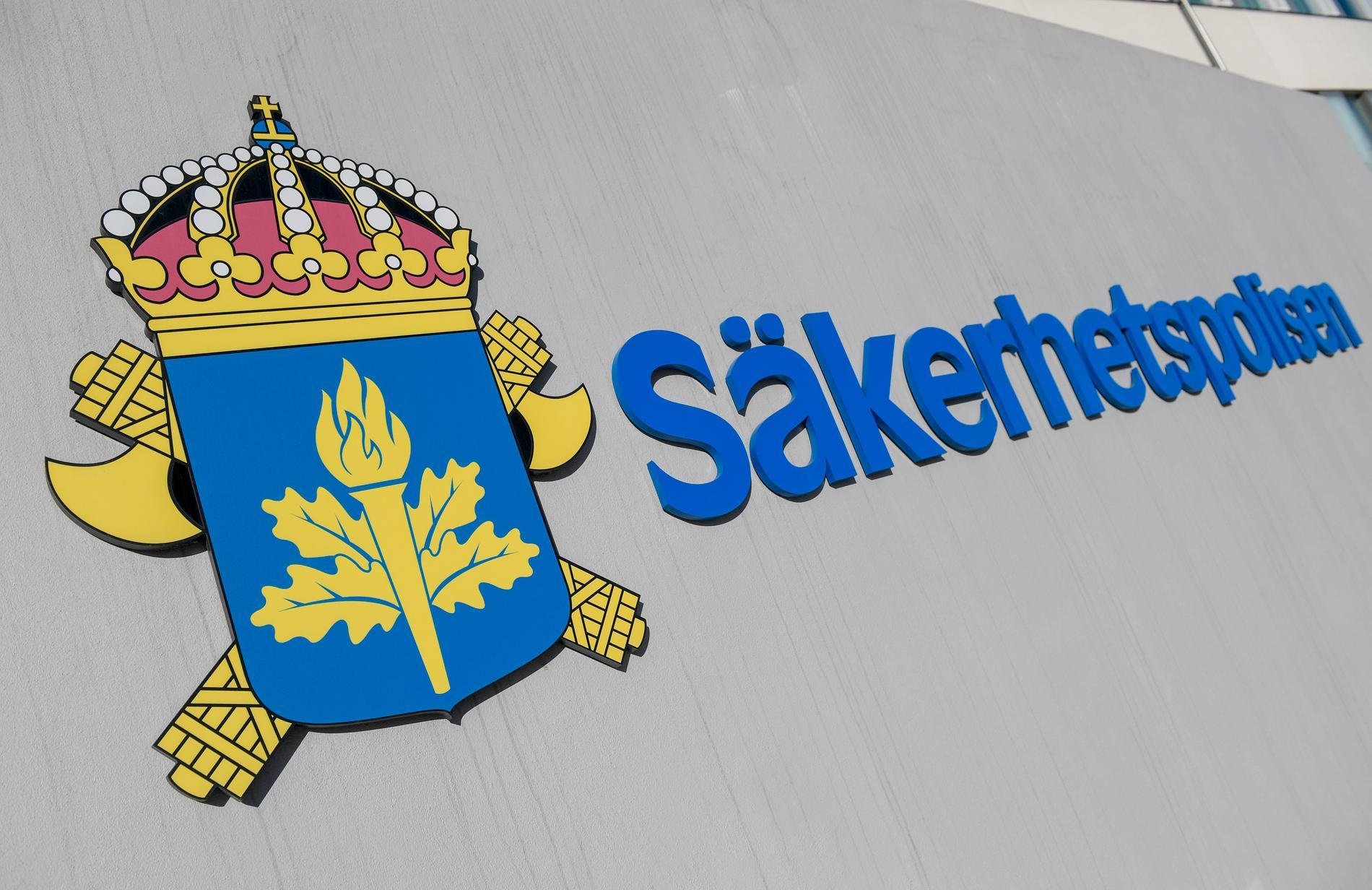 Säpo bekräftar för Aftonbladet att de genomfört en insats under måndagsmorgonen. Arkivbild.