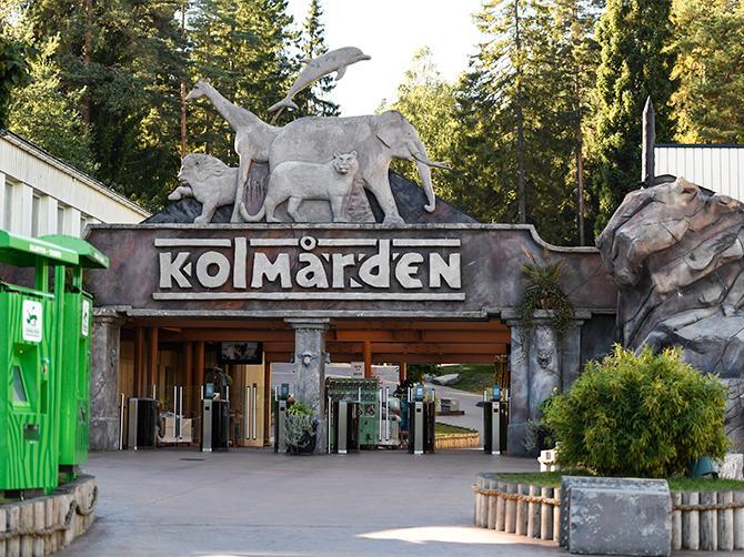 Kolmården har 60 djurarter och många åkattraktioner.
