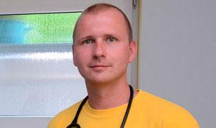 Tyske läkaren Mark Schmidt.