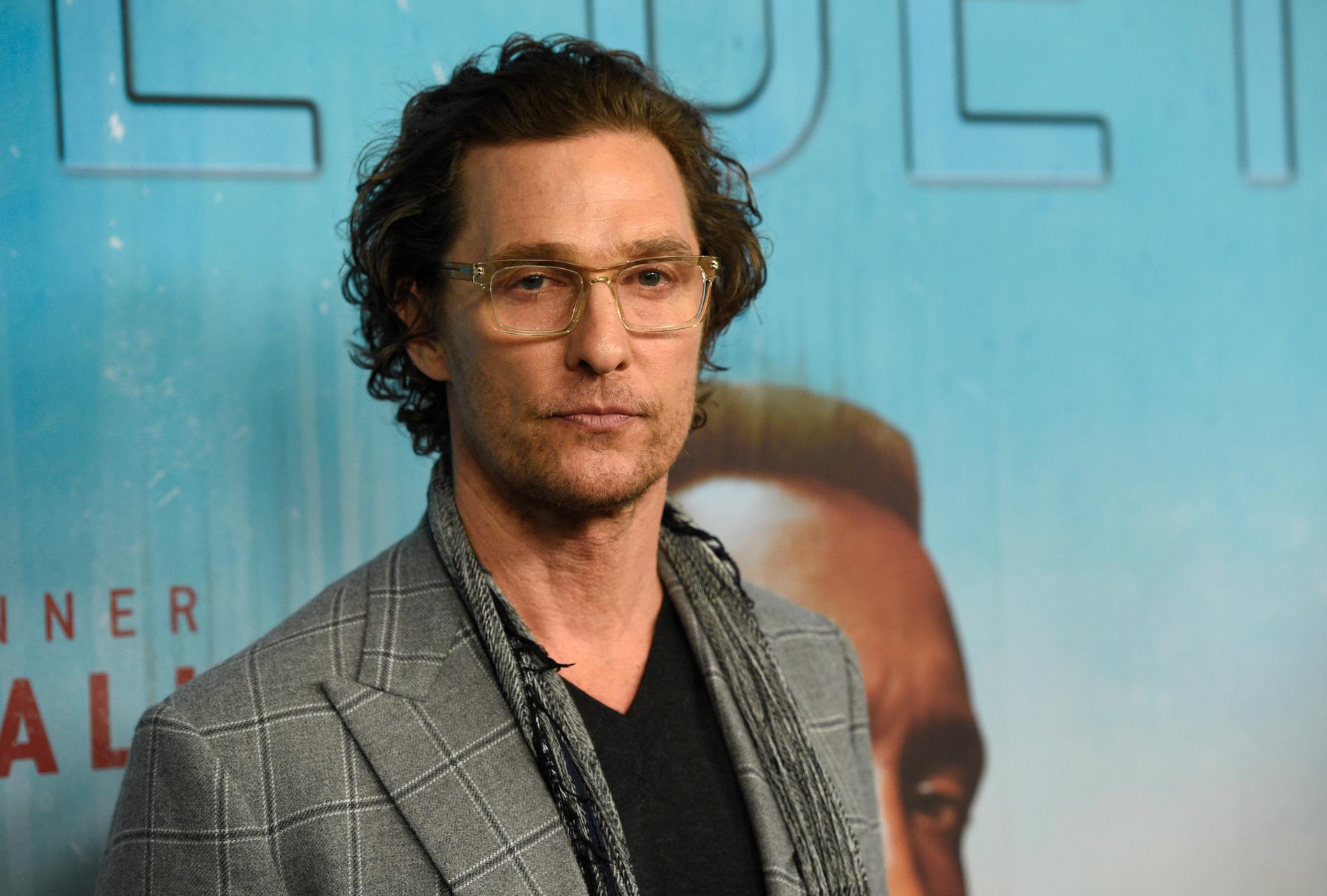 """Matthew McConaughey släpper självbiografin """"Greenlights""""."""