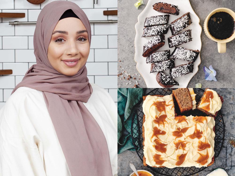 Camilla Hamid älskar att baka, småkakor är favoriten.
