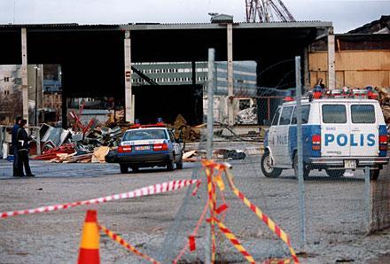 OUPPKLARAT I 11 ÅR Anders Gustafsson hittades mördad i ett saltlager i Hammarbyhamnen den 1 januari 1995. Han hade utsatts för brutalt våld.