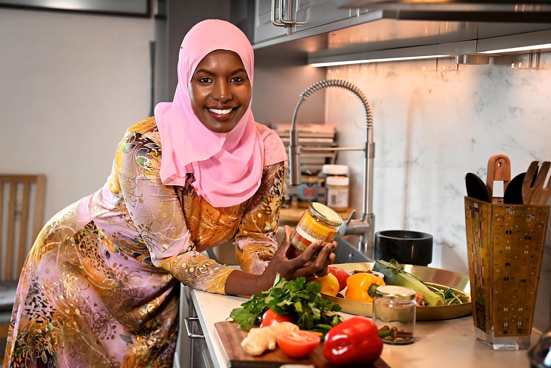Det kök som ligger Khadija närmast om hjärtat är det somaliska.