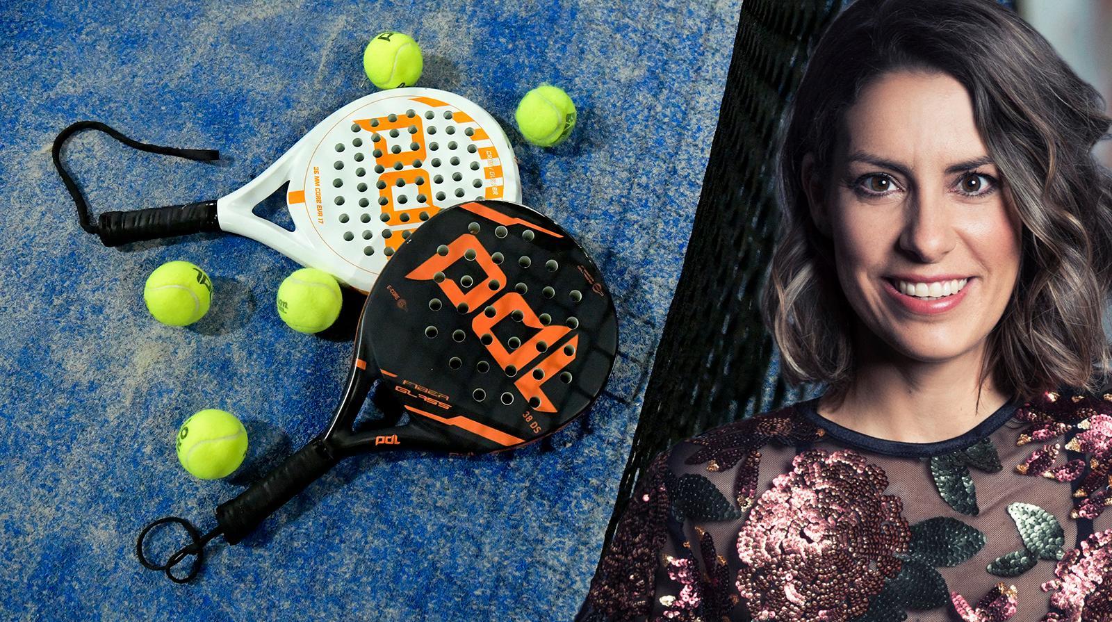 Nina skriver om sporten padel och varför det blivit populärt.