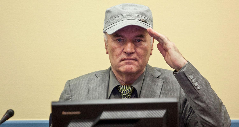 """""""Rättegången mot Ratko Mladic"""" (SVT)."""