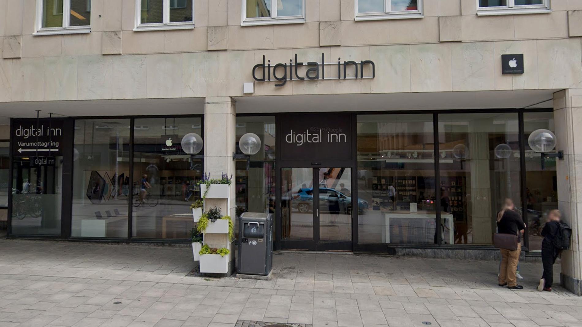 Digital Inns butik på Dragarbrunnsgatan ser ut att bli kvar.