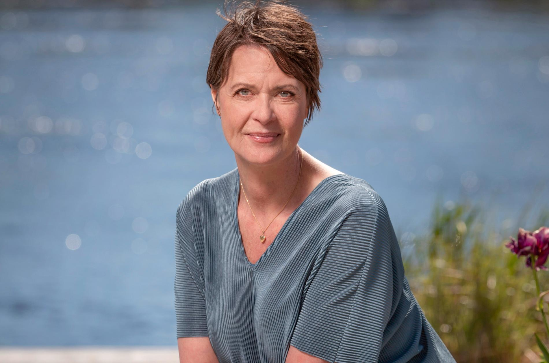 """Inger Ljung Olsson, programledare för """"Sommaröppet""""."""