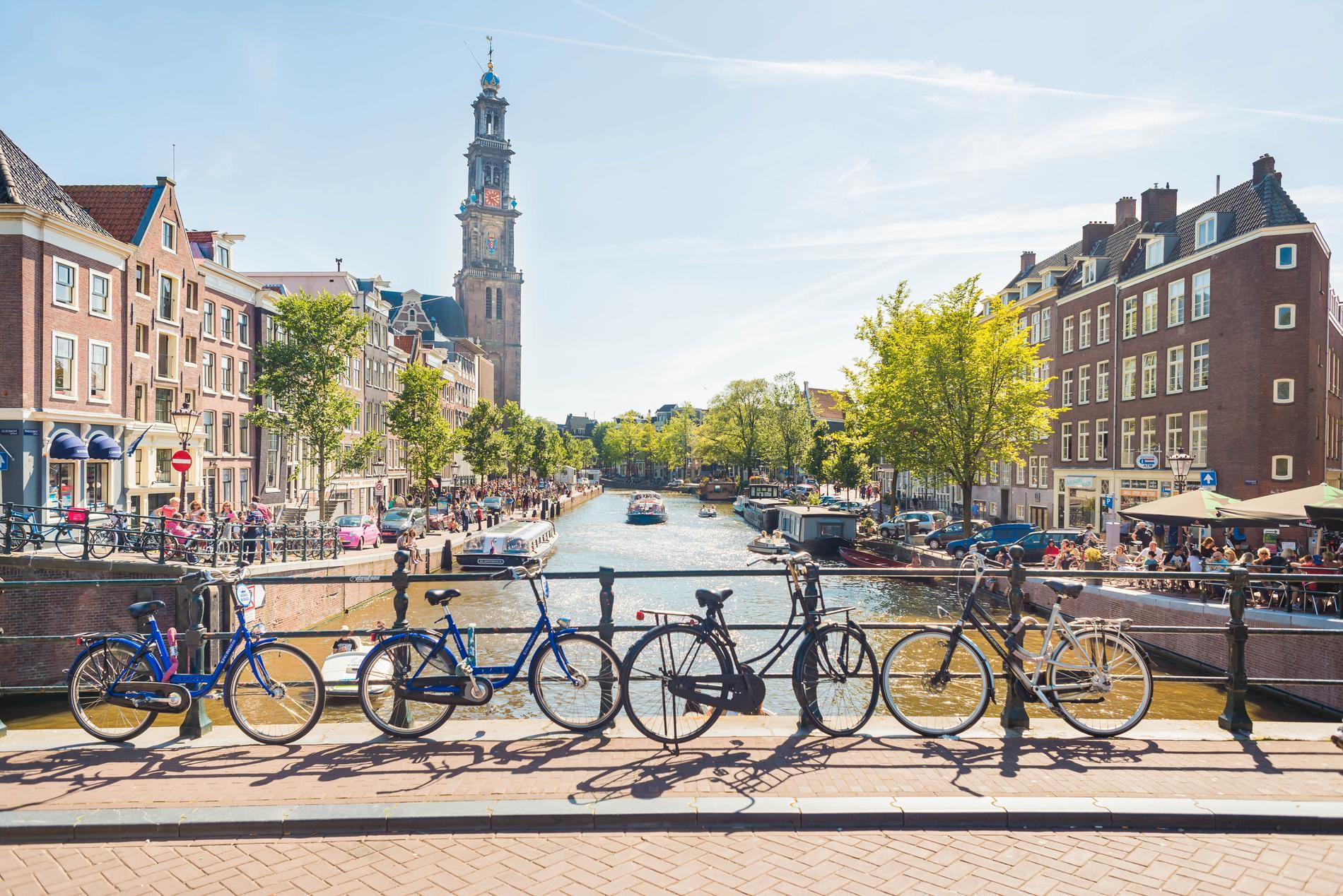 Eurotrip utspelar sig på flera amerikanska platser, bland annat i Amsterdam.