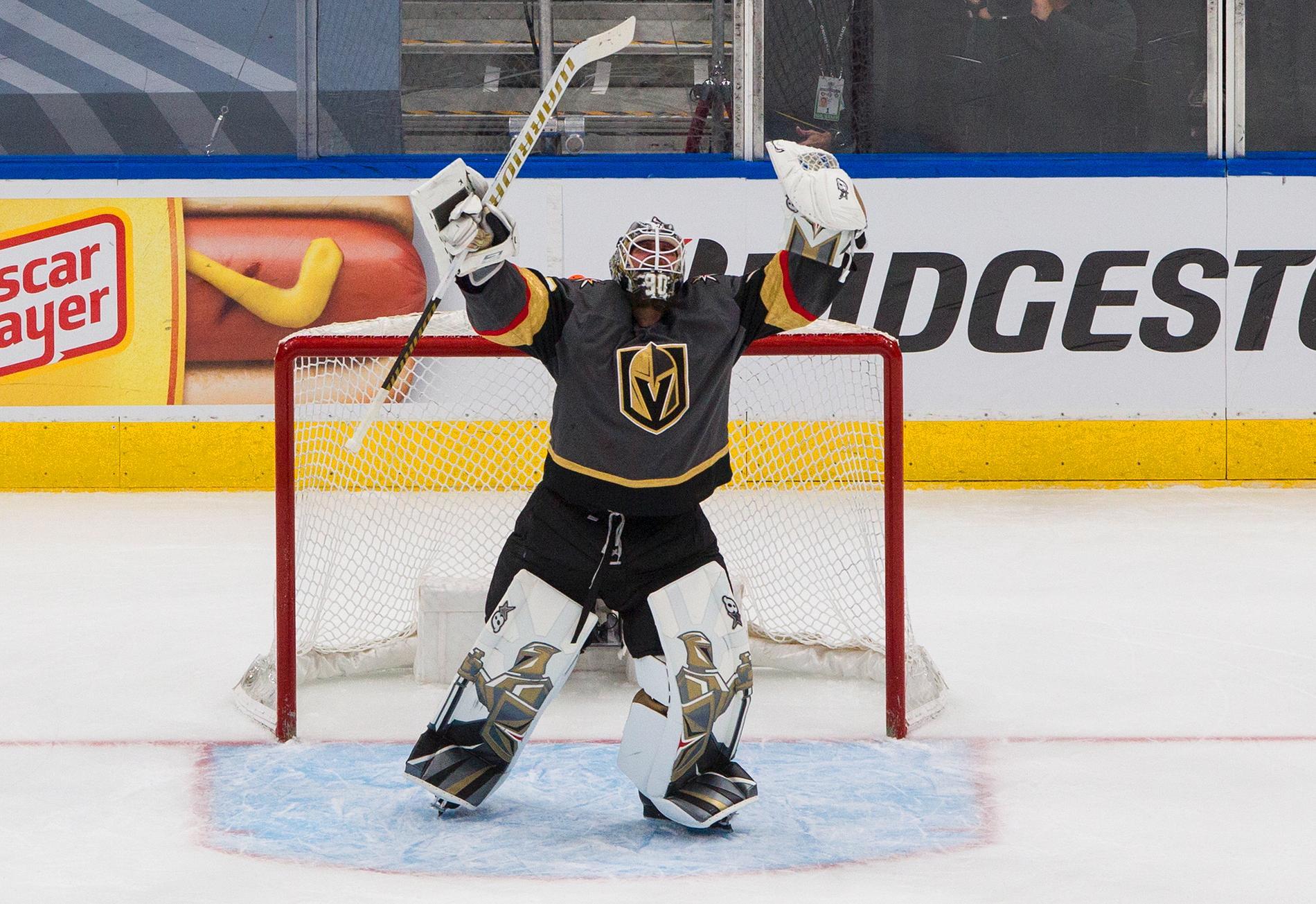 Robin Lehner i Vegas Golden Knights.
