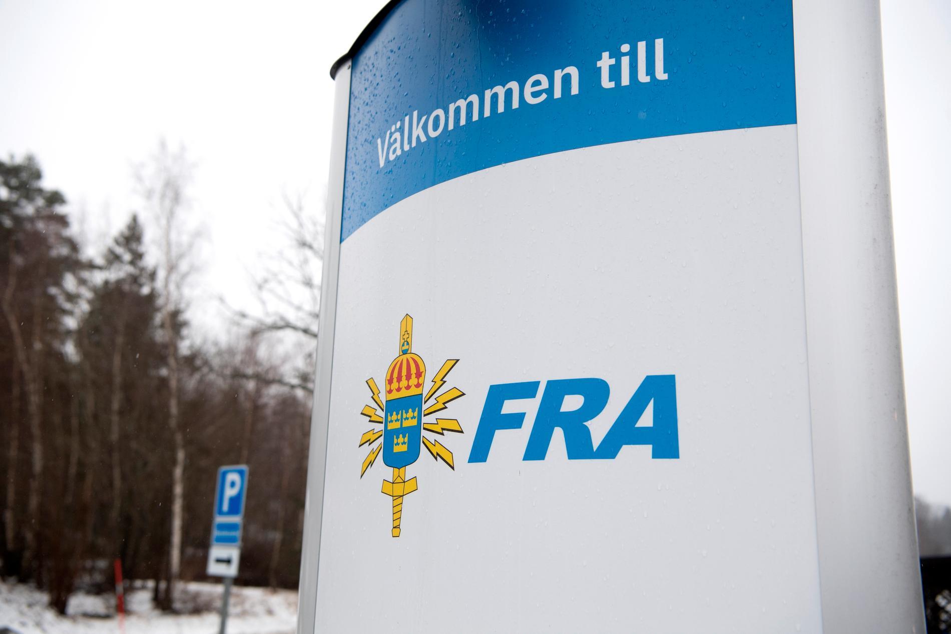 Regeringen föreslår att utländsk säkerhetstjänst ska få direktåtkomst till personuppgifter från Försvarsmaktens och FRA:s verksamhet. Arkivbild.