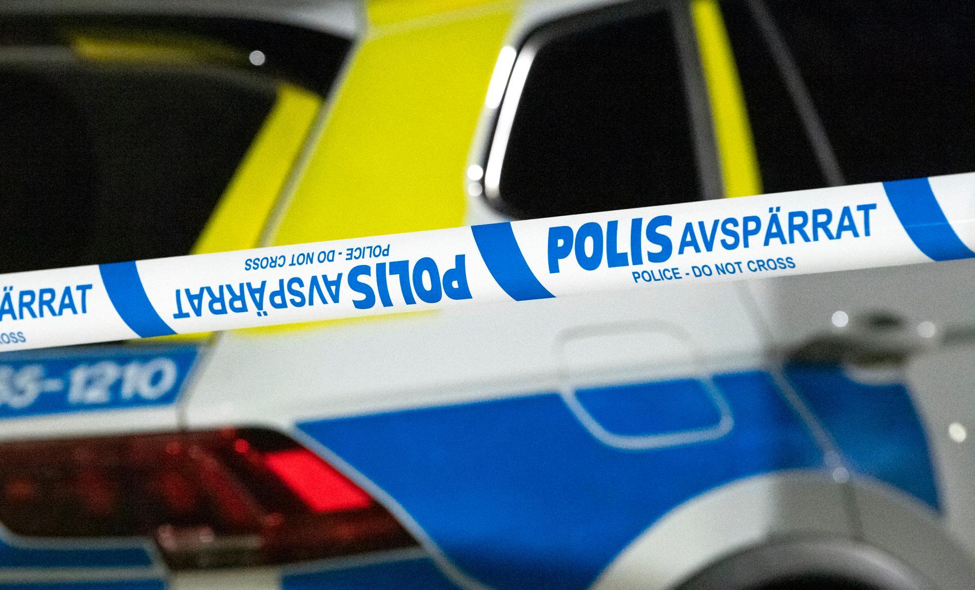 Ett stort pådrag inleddes på måndagskvällen efter vittnesuppgifter om skottlossning i Upplands-Bro. Arkivbild.