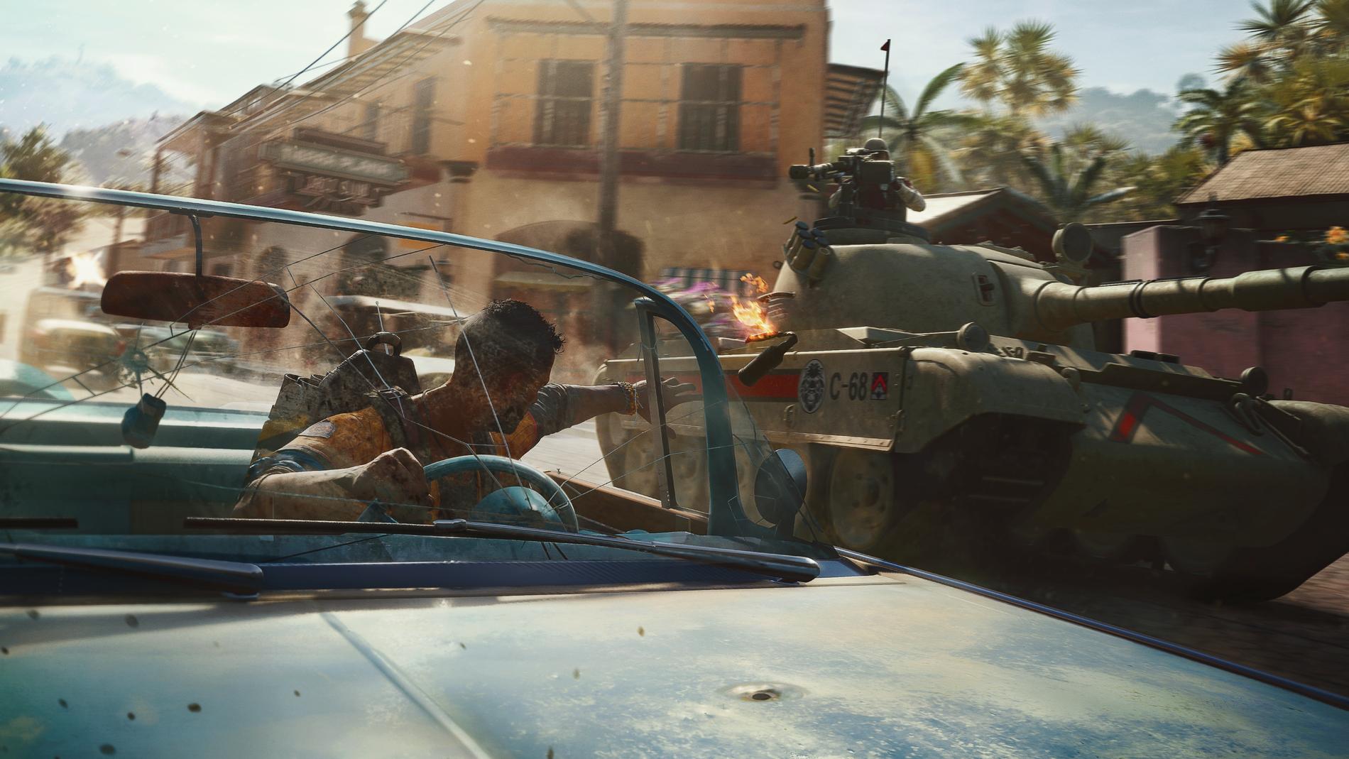 """""""Far Cry 6"""" är lika fartfyllt och """"loco"""" som man kunde ha förväntat sig."""
