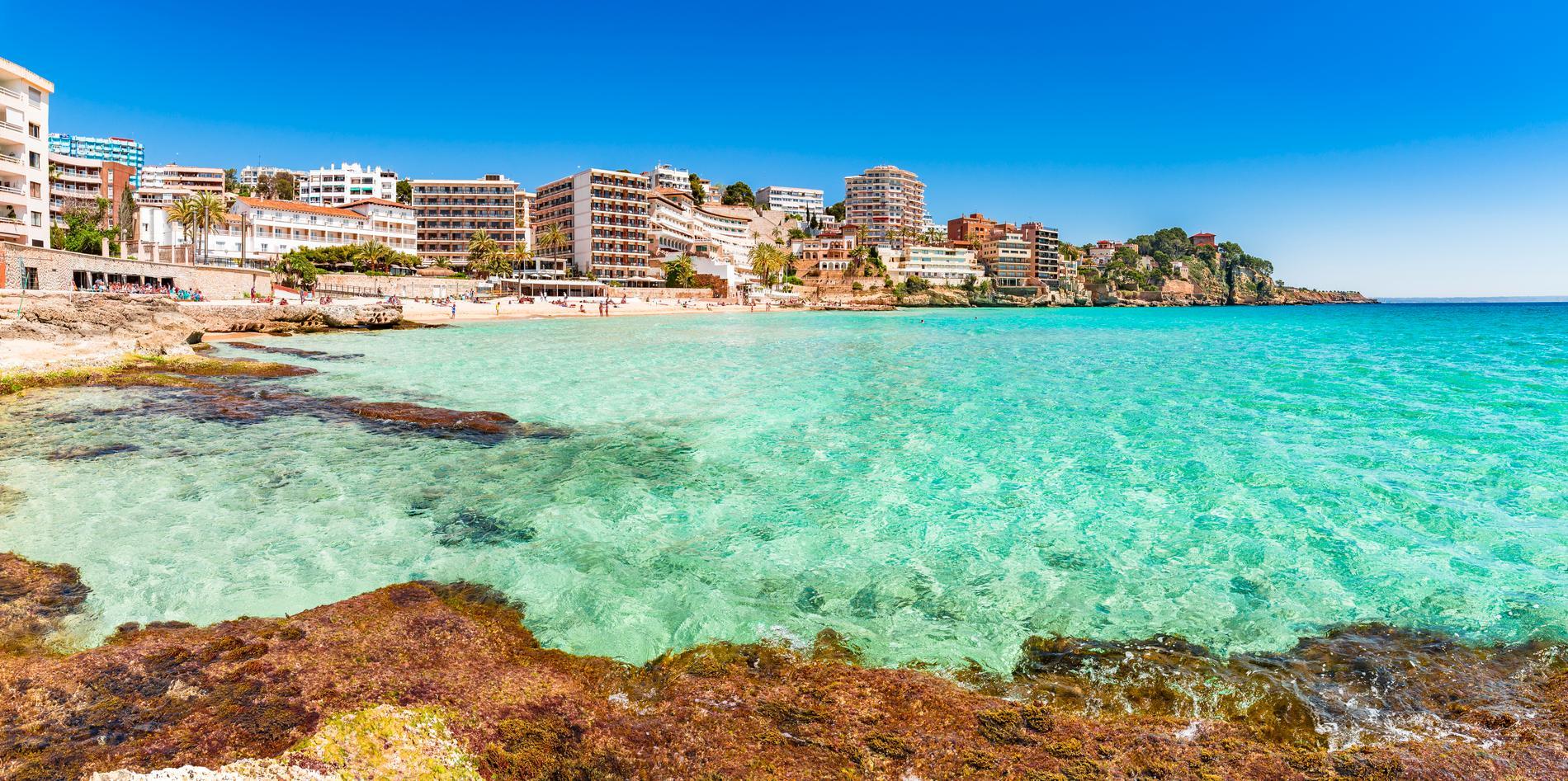 Resorna till Palma de Mallorca ökade med 21 procent i år.