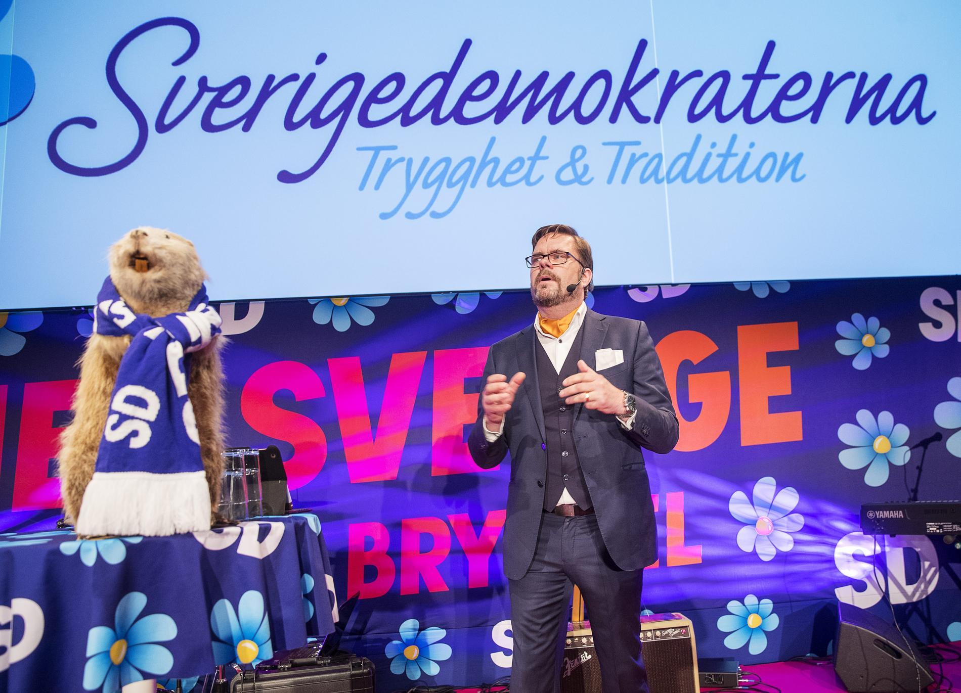 Jörgen Fogelklou, kommunalråd för Sverigedemokraterna i Göteborg.
