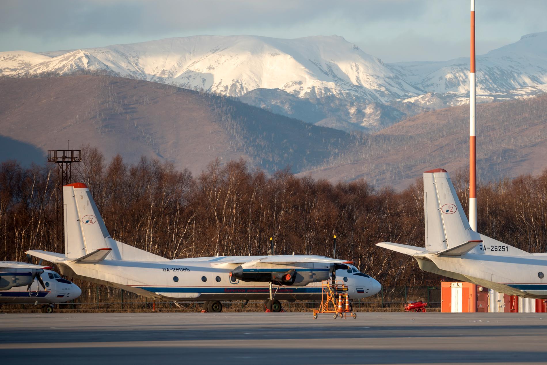 Antonov-planet försvann från radarn under onsdagskvällen. Arkivbild.