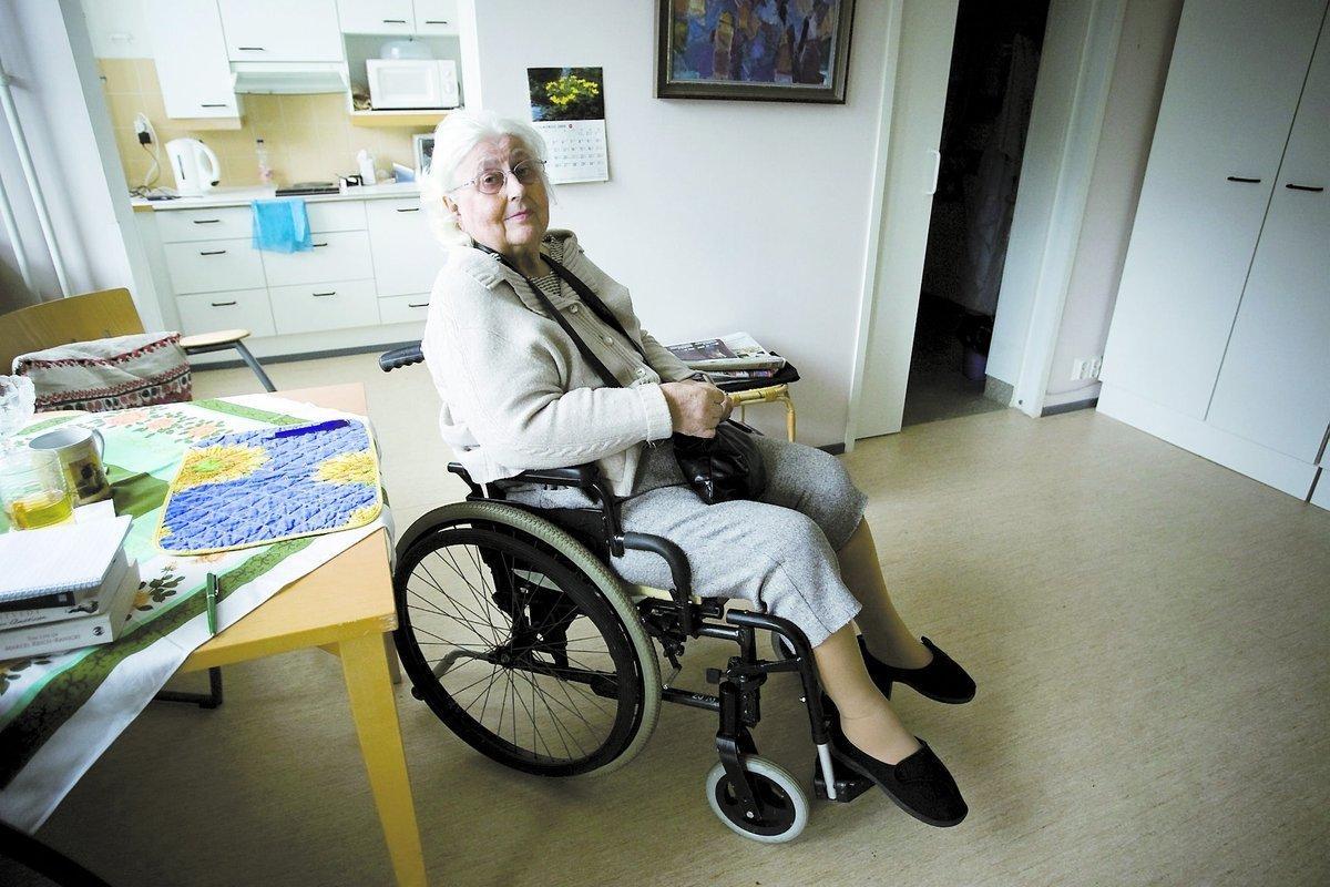 Seija Vihma, 76, hade känt sköterskan i flera år och tyckte bra om henne.