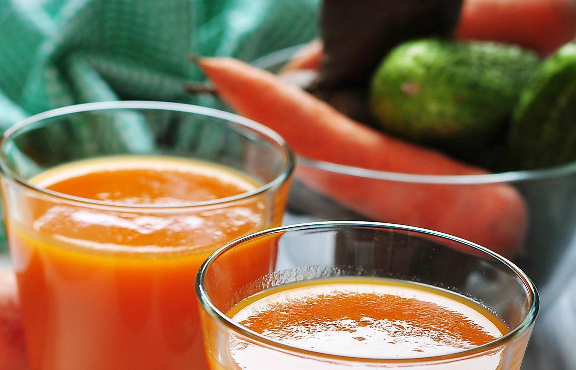 Nackdelen med juice är att du missar en del fibrer, men annars skadar inte ett extra vitamintillskott.