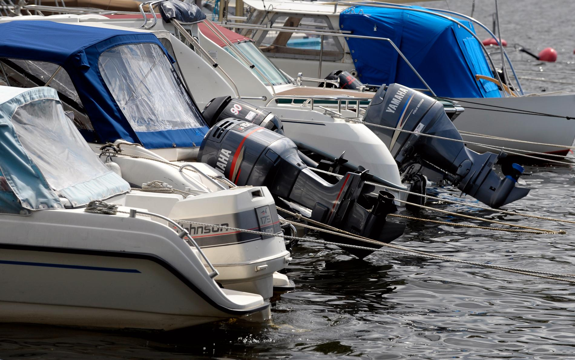 Båtstölderna ökade under september jämfört med samma månad förra året. Arkivbild.